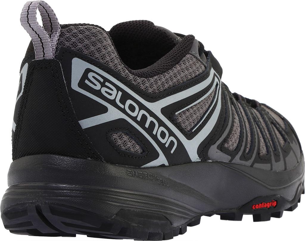 Men's Salomon X Crest Hiking Boot, Magnet/Black/Monument, large, image 4