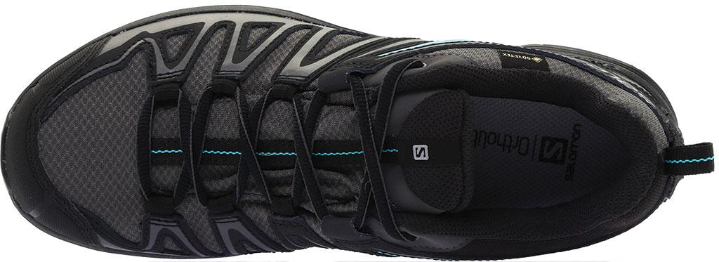 Women's Salomon X Crest GORE-TEX Trail Running Shoe, Magnet/Black/Atlantis, large, image 5