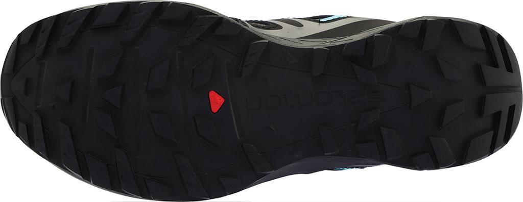 Women's Salomon X Crest GORE-TEX Trail Running Shoe, Magnet/Black/Atlantis, large, image 6