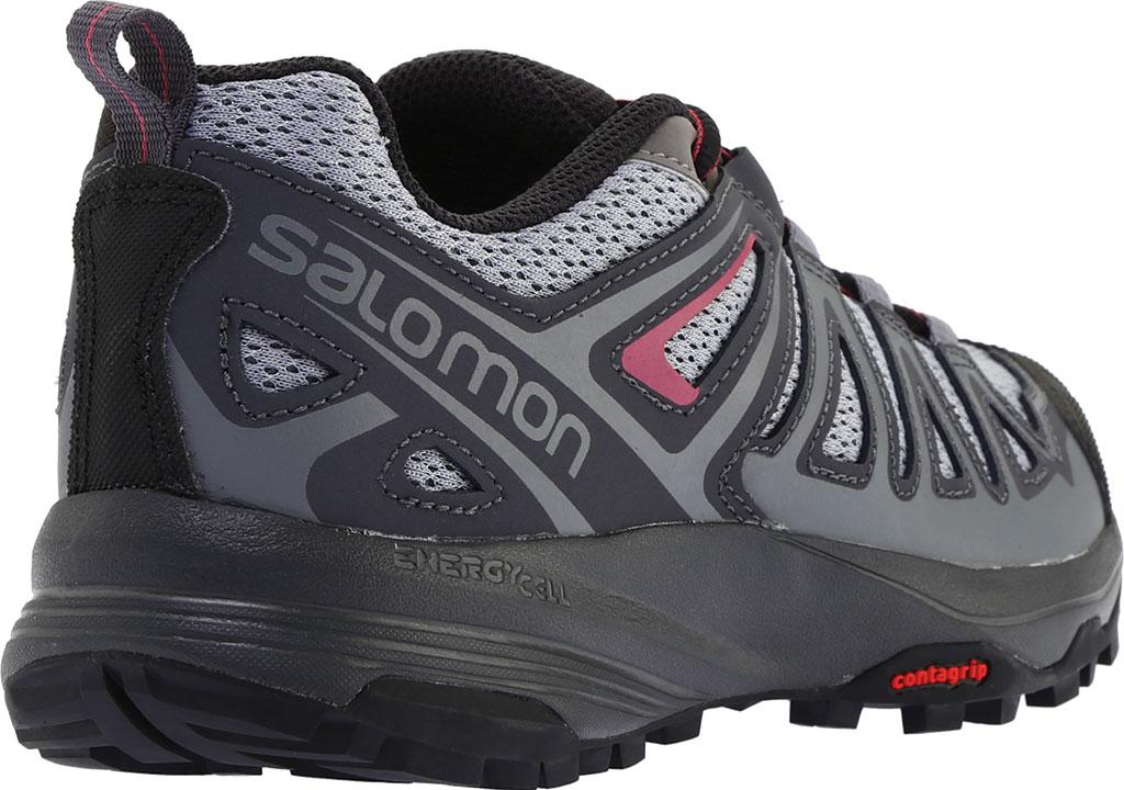 Women's Salomon X Crest Hiking Boot, Alloy/Ebony/Malaga, large, image 4