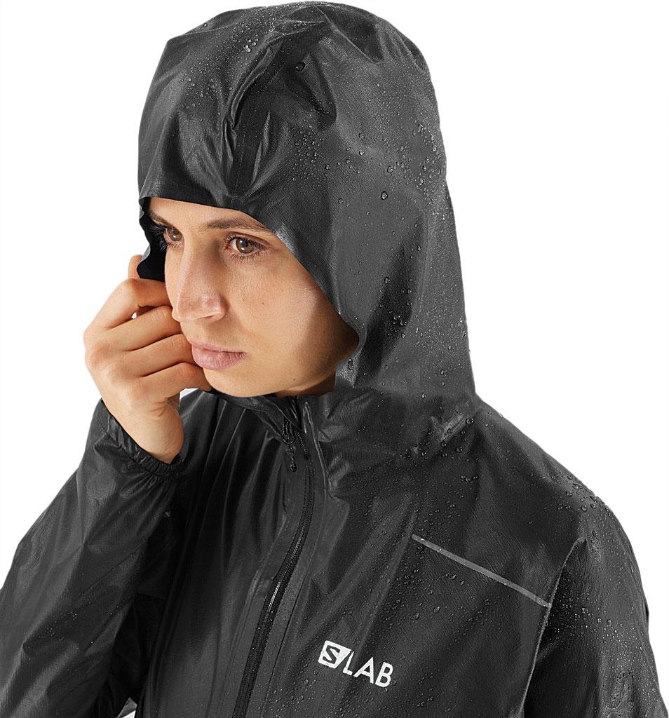 Women's Salomon S/Lab Motionfit 360 Jacket, Black, large, image 4