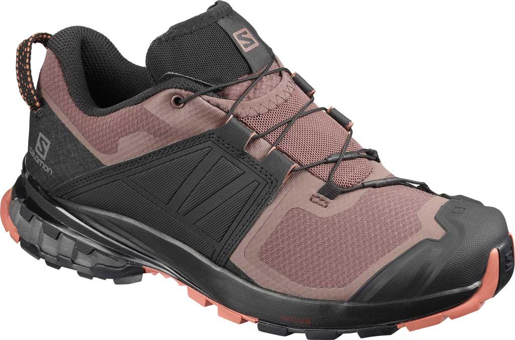 Women's Salomon XA Wild Trail Shoe, Peppercorn/Black/Cedar Wood, large, image 1