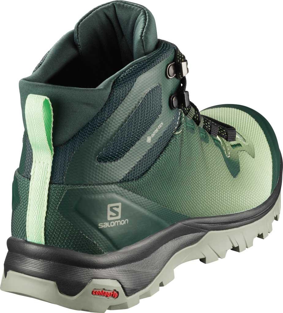 Women's Salomon Vaya Mid GORE-TEX Hiking Boot, Green Gables/Spruce Stone/Shadow, large, image 2