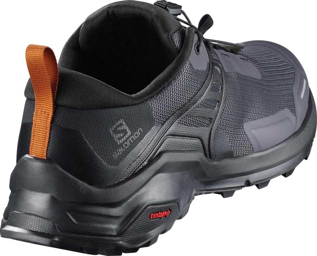 Men's Salomon X Raise Hiking Shoe, Ebony/Black/Caramel Cafe, large, image 2
