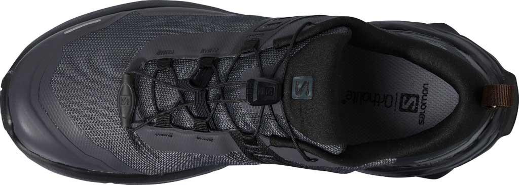 Men's Salomon X Raise Hiking Shoe, Ebony/Black/Caramel Cafe, large, image 3