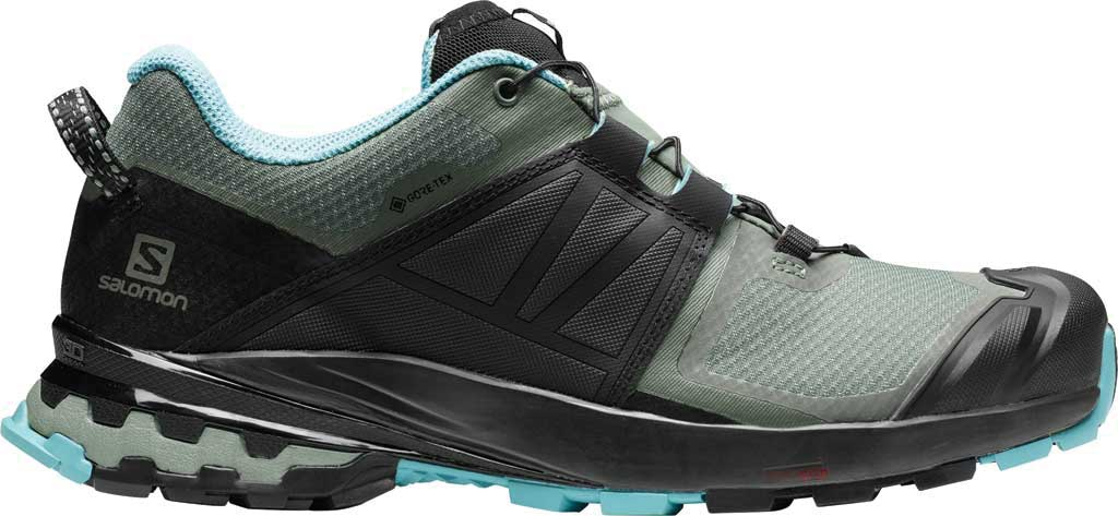Women's Salomon XA Wild GORE-TEX Trail Shoe, Balsam Green/Black/Meadowbrook, large, image 2