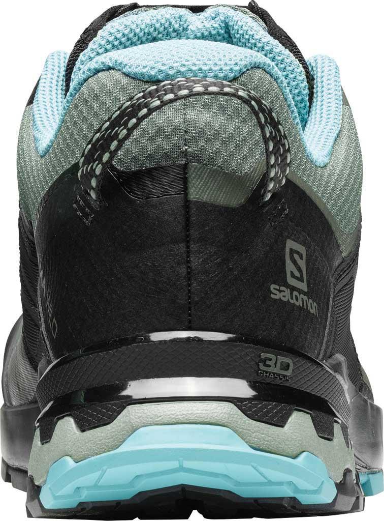 Women's Salomon XA Wild GORE-TEX Trail Shoe, Balsam Green/Black/Meadowbrook, large, image 3