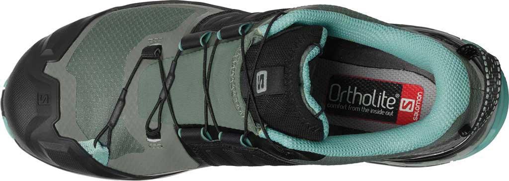 Women's Salomon XA Wild GORE-TEX Trail Shoe, Balsam Green/Black/Meadowbrook, large, image 4
