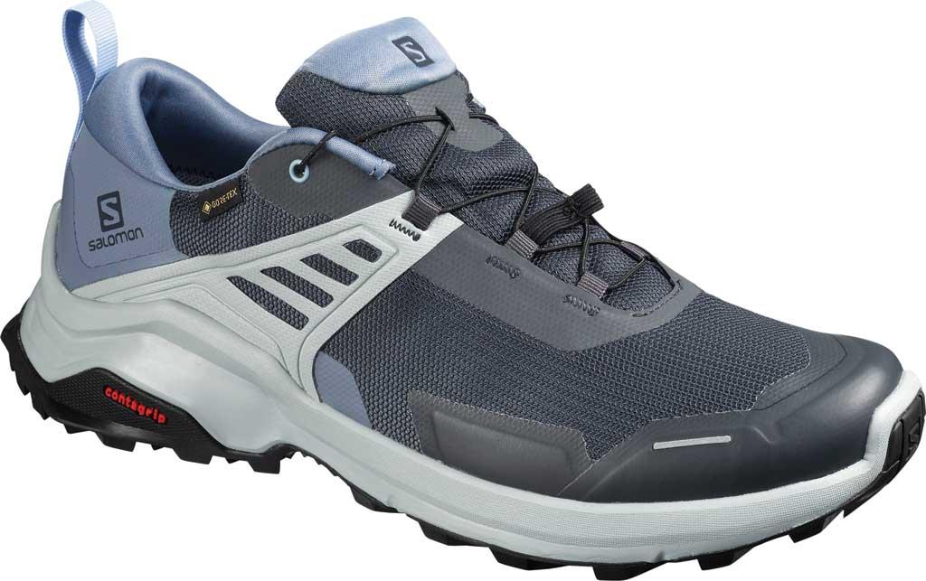 Men's Salomon X Raise GORE-TEX Hiking Shoe, India Ink/Flint Stone/Quarry, large, image 1
