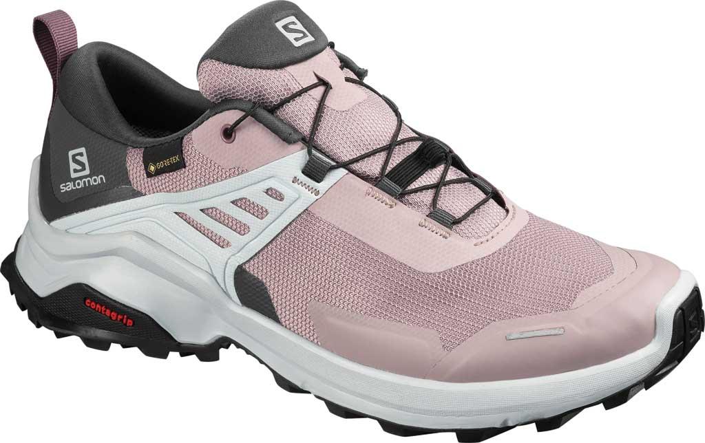 Women's Salomon X Raise GORE-TEX Hiking Shoe, Quail/India Ink/Flint, large, image 1
