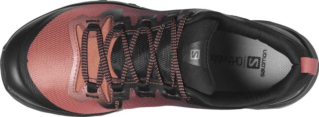 Women's Salomon Vaya Hiking Shoe, Black/Cedar Wood/Black, large, image 3