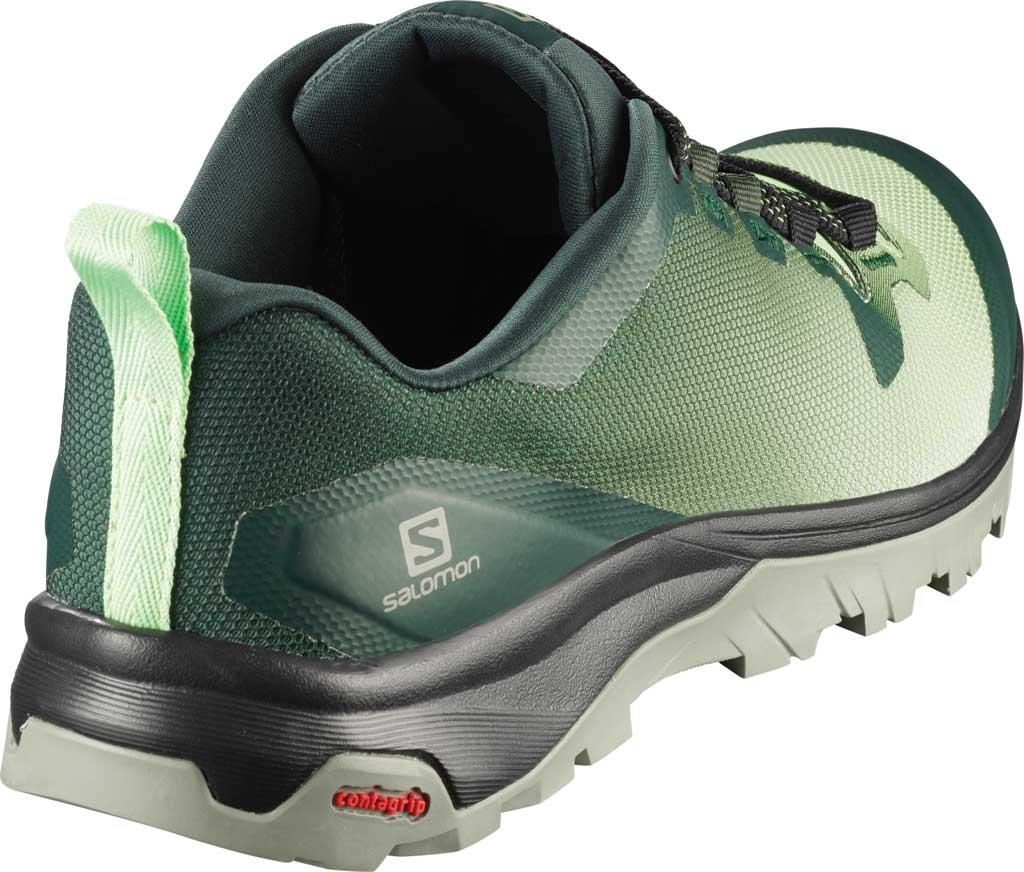 Women's Salomon Vaya Hiking Shoe, Green Gables/Spruce Stone/Shadow, large, image 2