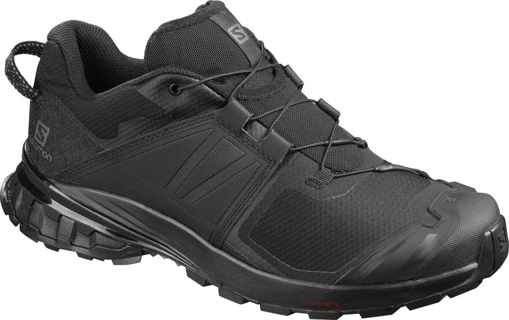Men's Salomon XA Wild Trail Shoe, Black/Black/Black, large, image 1