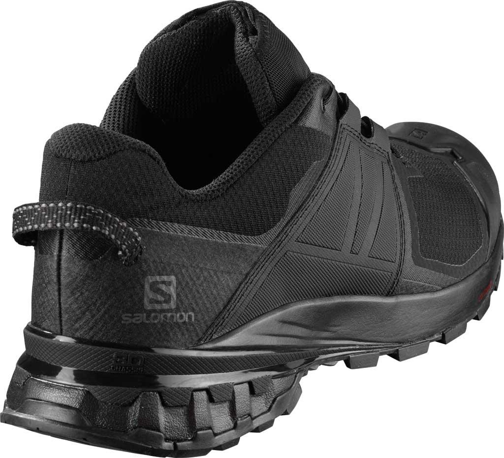 Men's Salomon XA Wild Trail Shoe, Black/Black/Black, large, image 2