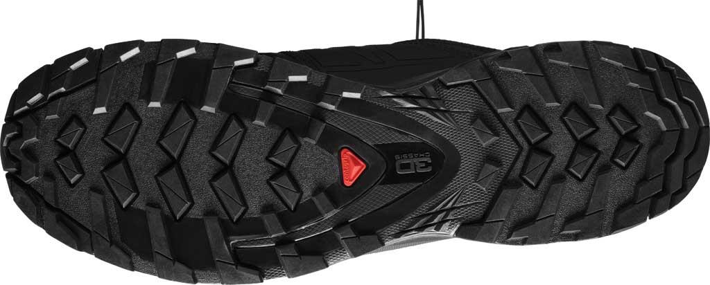 Men's Salomon XA Wild Trail Shoe, Black/Black/Black, large, image 4