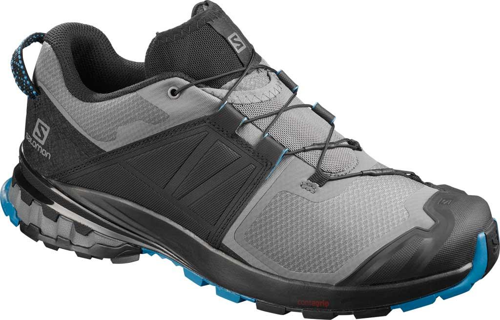 Men's Salomon XA Wild Trail Shoe, Quiet Shade/Black/Blue Aster, large, image 1