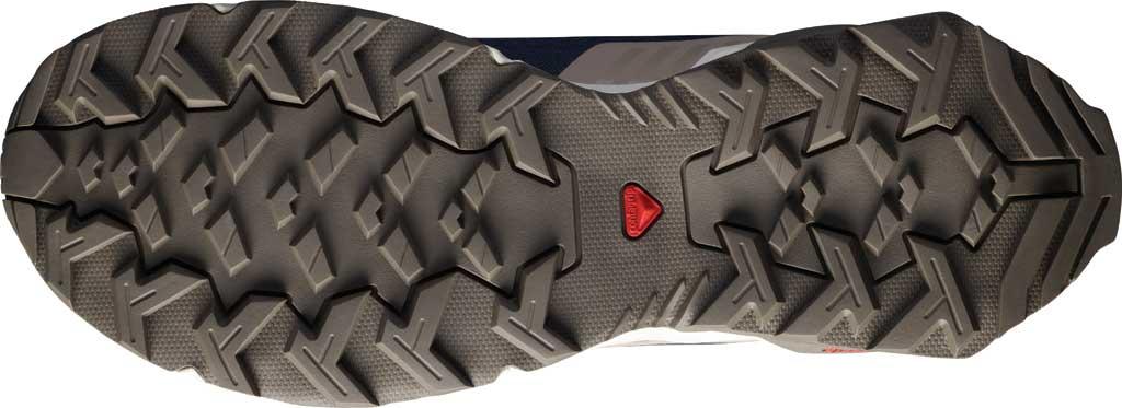 Men's Salomon X Reveal Chukka CS Waterproof Boot, Navy Blazer/Vintage Kaki/Bungee Cord, large, image 4