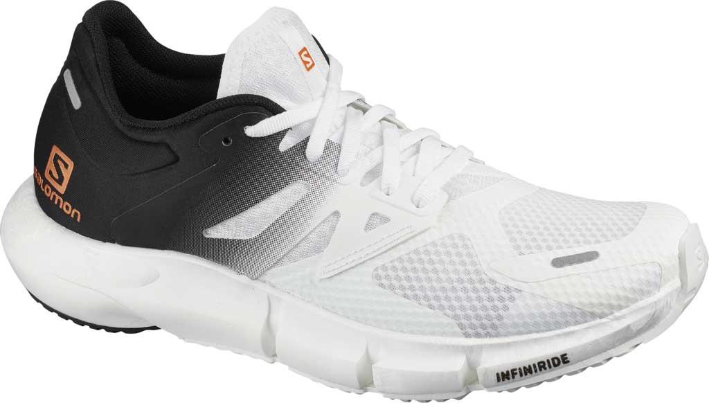 Women's Salomon Predict 2 Running Sneaker, White/Black/White, large, image 1