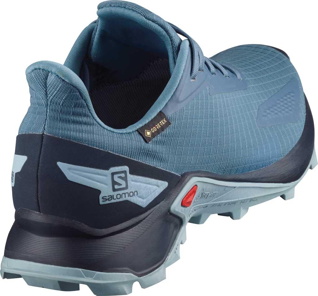 Women's Salomon Alphacross Blast GORE-TEX Trail Running Sneaker, Copen Blue/Navy Blazer/Ashley Blue, large, image 2