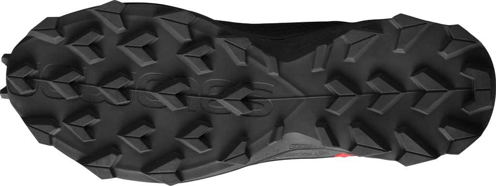 Men's Salomon Alphacross Blast GORE-TEX Trail Running Sneaker, Black/Black/Black, large, image 4