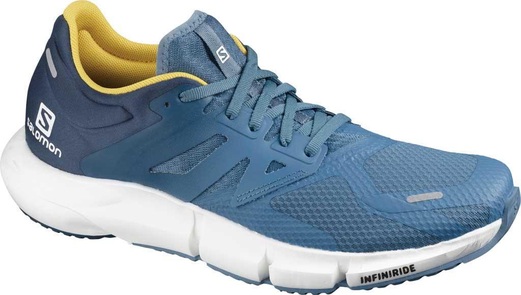 Men's Salomon Predict 2 Running Sneaker, Copen Blue/Dark Denim/Sulphur, large, image 1