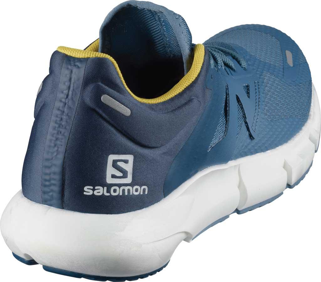Men's Salomon Predict 2 Running Sneaker, Copen Blue/Dark Denim/Sulphur, large, image 2