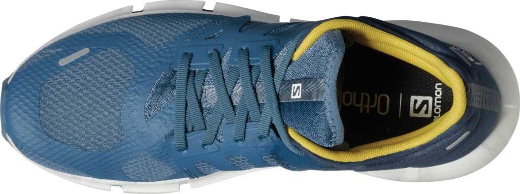 Men's Salomon Predict 2 Running Sneaker, Copen Blue/Dark Denim/Sulphur, large, image 3