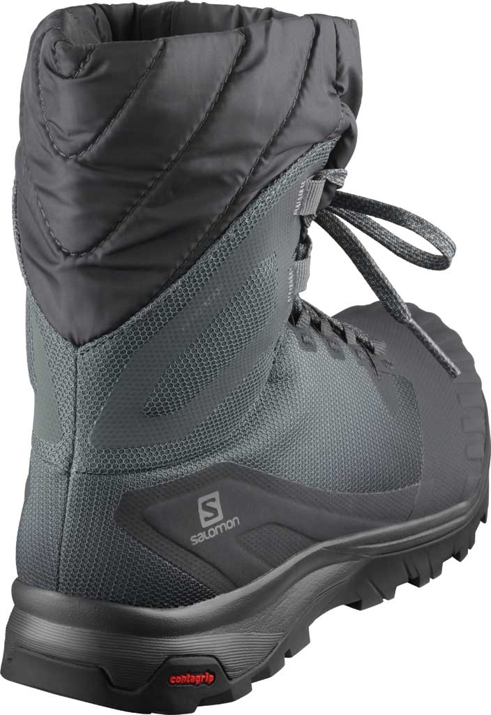 Women's Salomon Vaya Powder TS CS Waterproof Boot, Ebony/Stormy Weather/Black, large, image 2