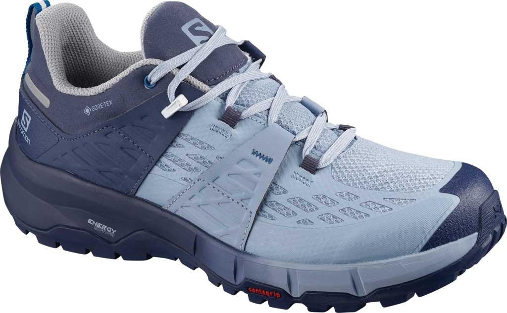Women's Salomon Odyssey GORE-TEX Hiking Sneaker, Crown Blue/Forever Blue/Imperial Blue, large, image 1