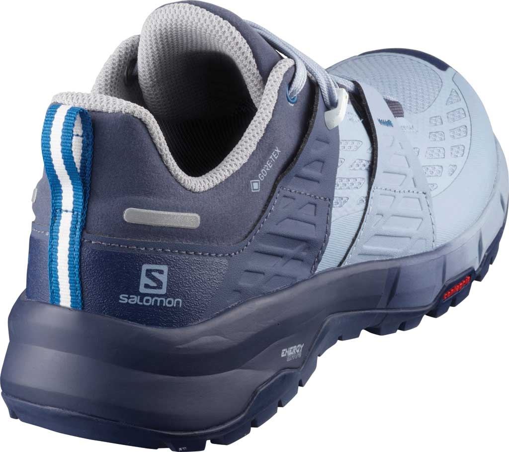 Women's Salomon Odyssey GORE-TEX Hiking Sneaker, Crown Blue/Forever Blue/Imperial Blue, large, image 2