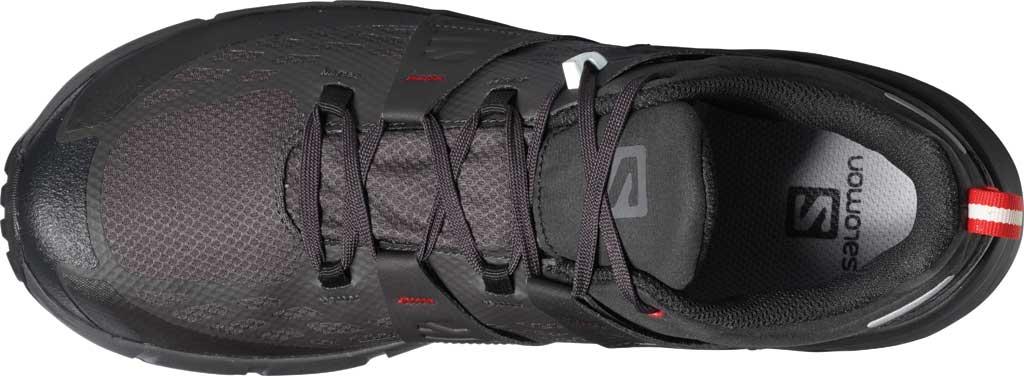 Men's Salomon Odyssey GORE-TEX Hiking Sneaker, Black/Shale/High Risk Red, large, image 3