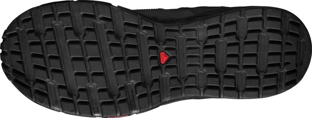 Men's Salomon Odyssey GORE-TEX Hiking Sneaker, Black/Shale/High Risk Red, large, image 4