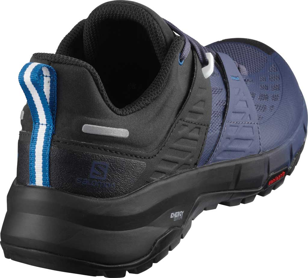 Women's Salomon Odyssey Hiking Sneaker, Black/Crown Blue/Imperial Blue, large, image 2