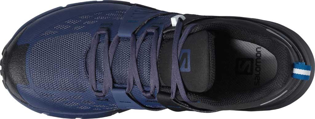 Women's Salomon Odyssey Hiking Sneaker, Black/Crown Blue/Imperial Blue, large, image 3