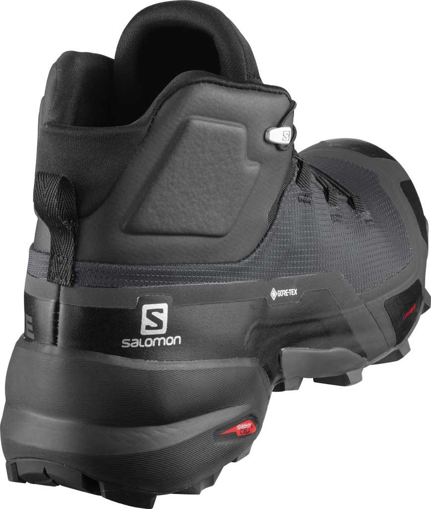 Men's Salomon Cross Hike Mid GORE-TEX Sneaker, Phantom/Black/Ebony, large, image 2
