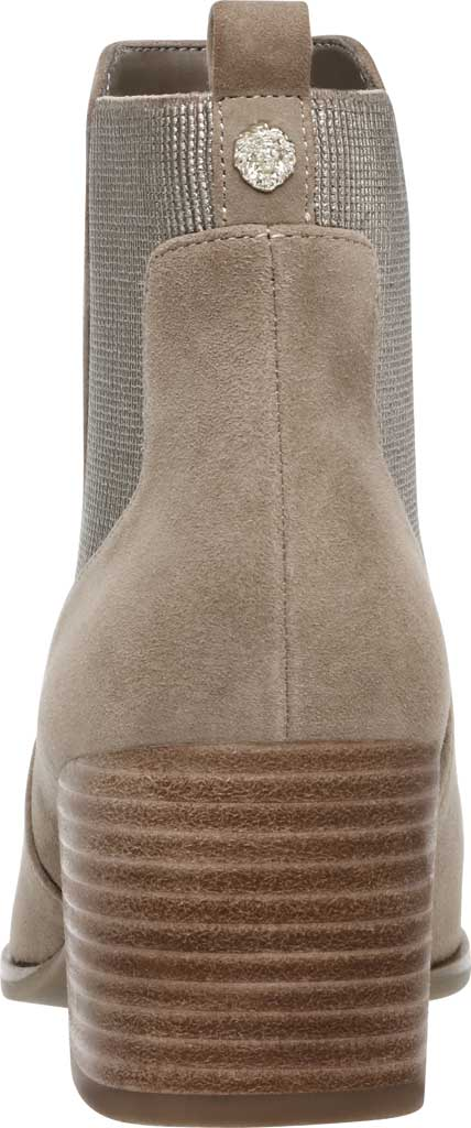Women's Anne Klein Parson Chelsea Boot, Metallic Taupe Suede, large, image 4