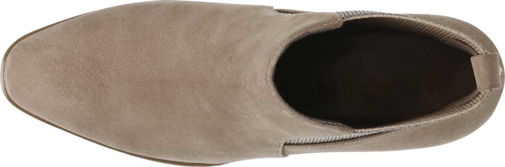 Women's Anne Klein Parson Chelsea Boot, Metallic Taupe Suede, large, image 5