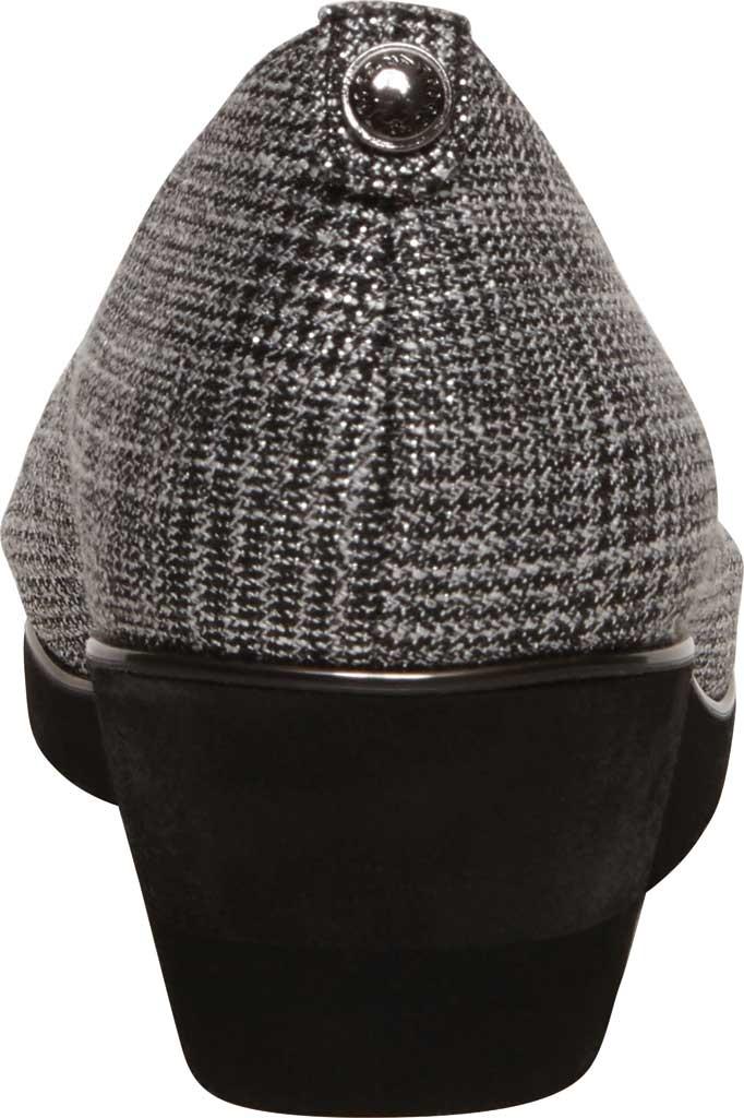 Women's Anne Klein Davey Wedge Pump, Grey Plaid Fabric, large, image 3
