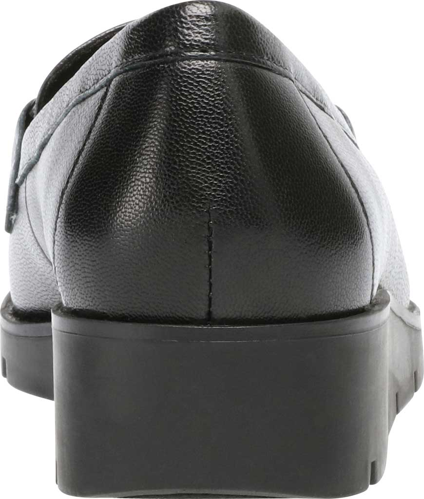 Women's Anne Klein Lalita Wedge Loafer, Black Leather, large, image 3