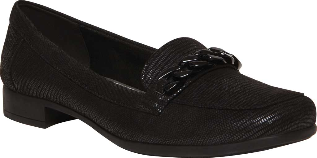 Women's Anne Klein Valisity Loafer, Black Multi Fabric, large, image 1