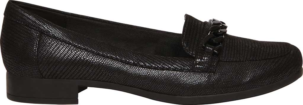 Women's Anne Klein Valisity Loafer, Black Multi Fabric, large, image 2