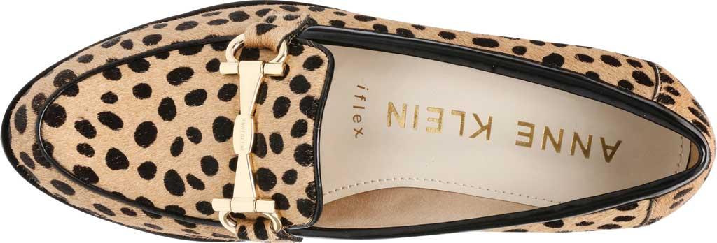 Women's Anne Klein Lalita Hair Calf Loafer, Dot Leopard Hair Calf, large, image 4