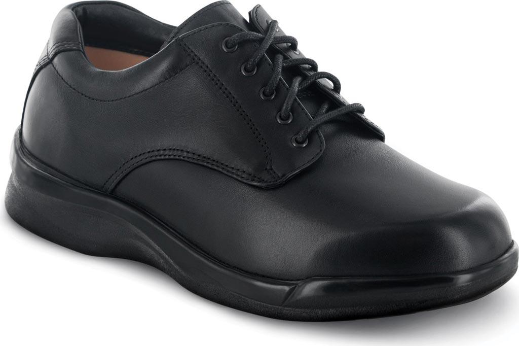 Men's Apex Ambulator Conform Oxford, Black Smooth Leather, large, image 1