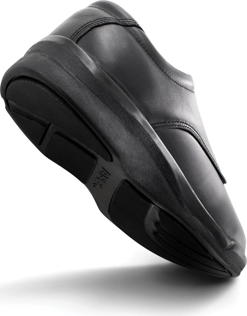 Men's Apex Ambulator Conform Oxford, Black Smooth Leather, large, image 3