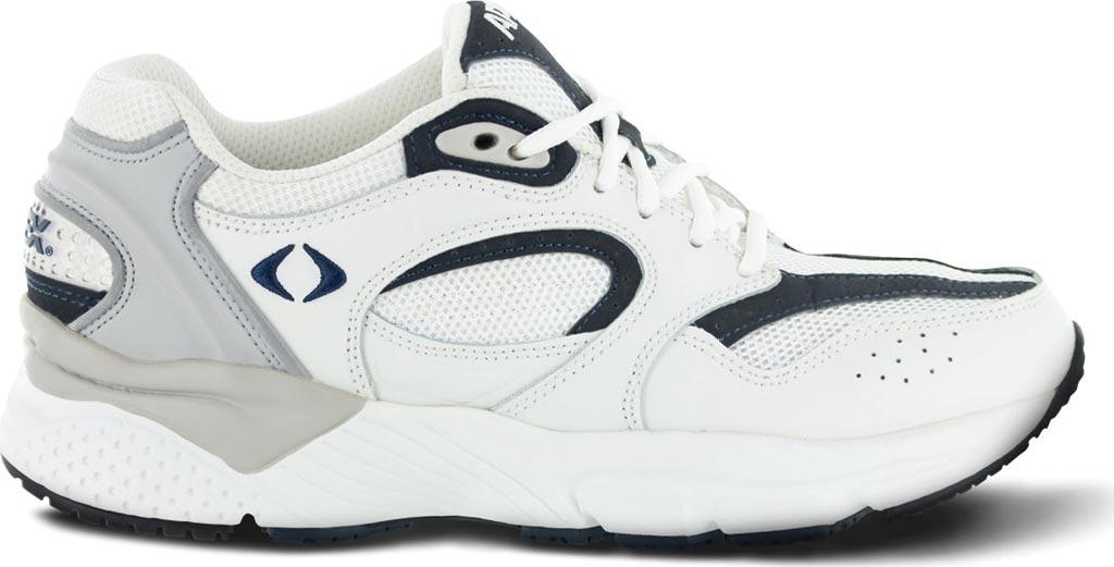 Men's Apex X521 Lenex Runner, White/Navy, large, image 2