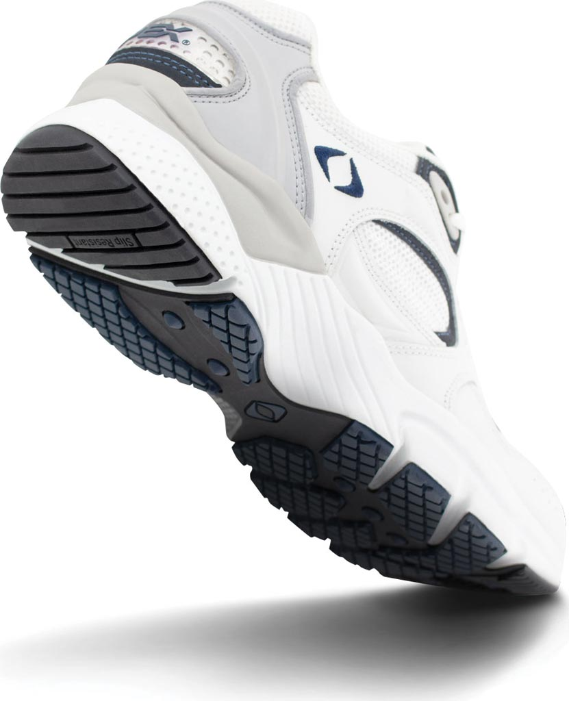 Men's Apex X521 Lenex Runner, White/Navy, large, image 3