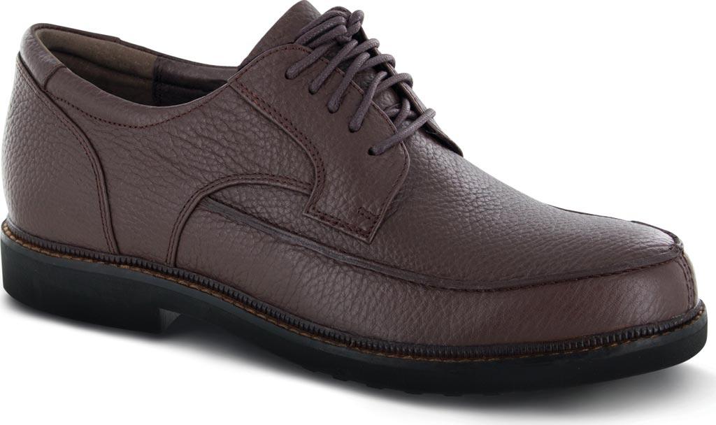 Men's Apex LT910 Oxford, Brown Leather, large, image 1