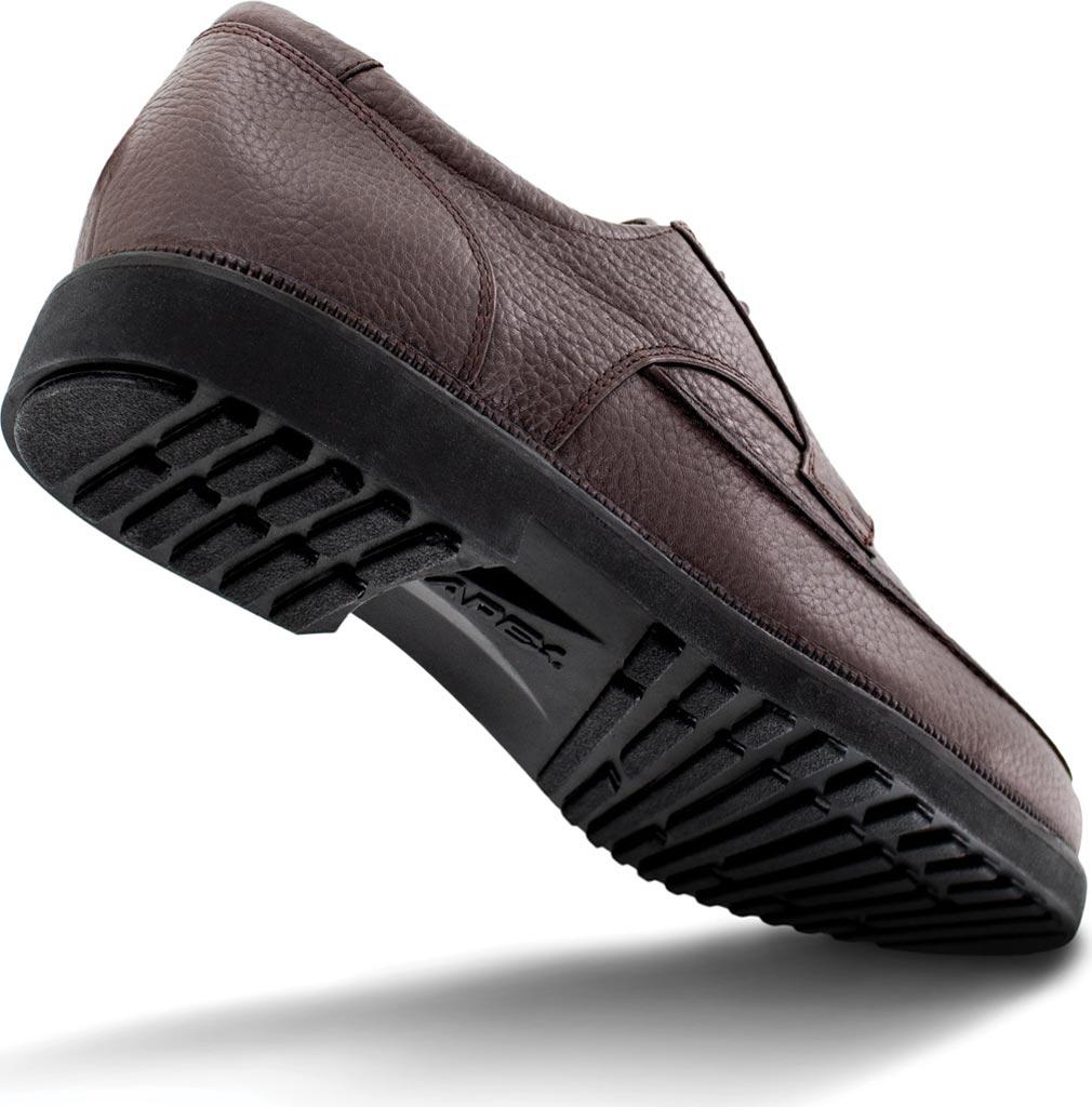 Men's Apex LT910 Oxford, Brown Leather, large, image 3