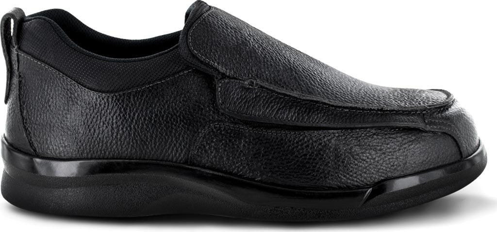 Men's Apex Ambulator Flip Open Moc, Black Leather, large, image 2