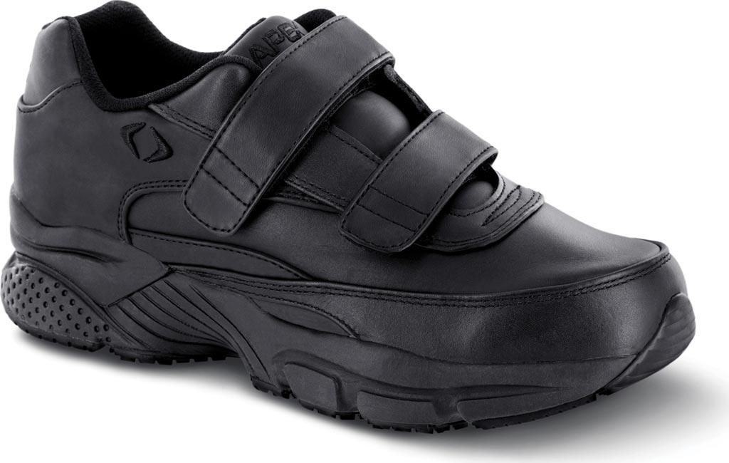 Men's Apex Double Strap Walker X Last Sneaker, Black Full Grain Leather, large, image 1